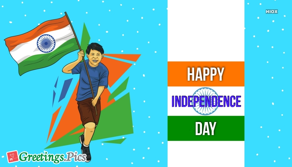 Happy Independence Day Greetings India
