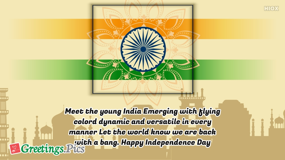 Happy Independence Day India Status