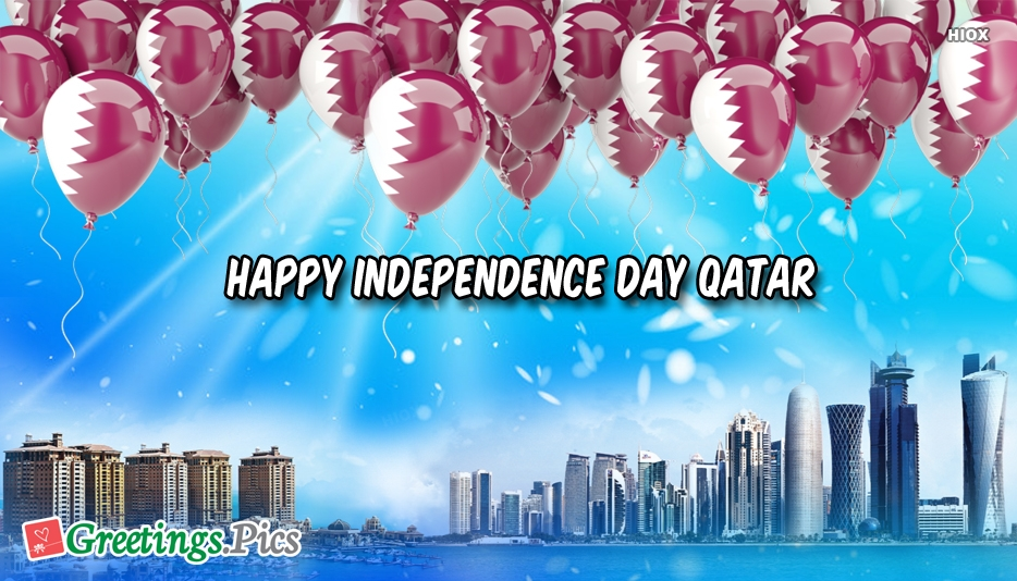 Happy Independence Day Qatar