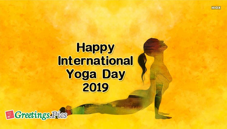 International Yoga Day Greeting Cards