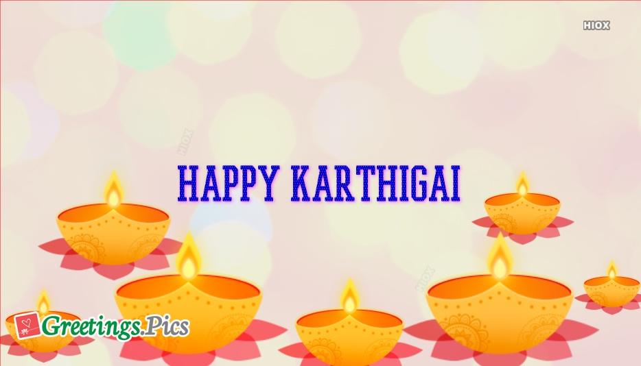 Karthigai Deepam 2019 Wishes Greetings