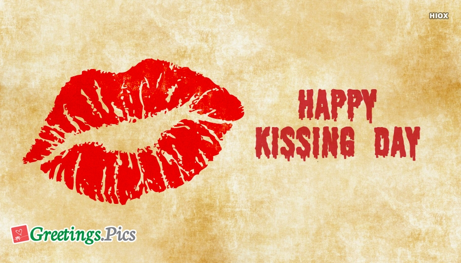 Happy Kissing Day Images