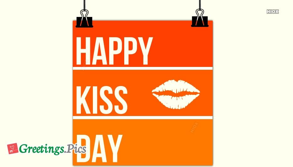 Happy Kissing Day Photos