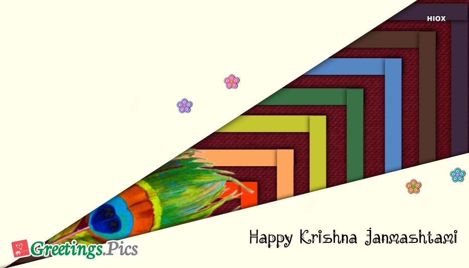 Happy Krishna Janmashtami Greetings, Messages