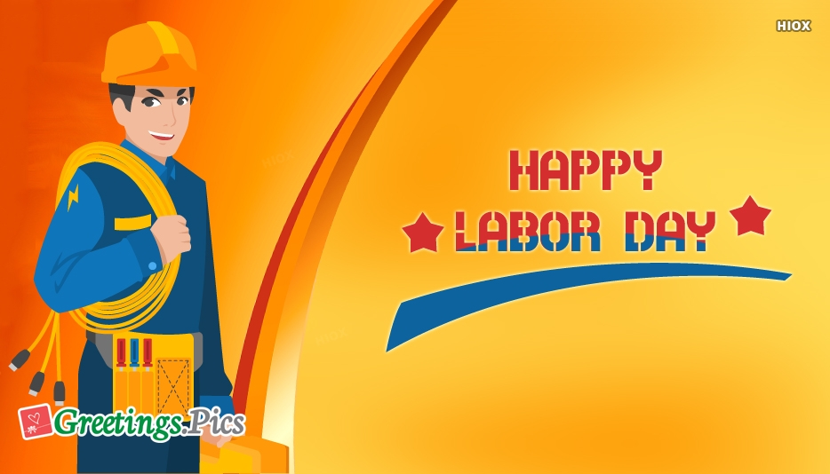 Labor Day Greeting Cards, Messages