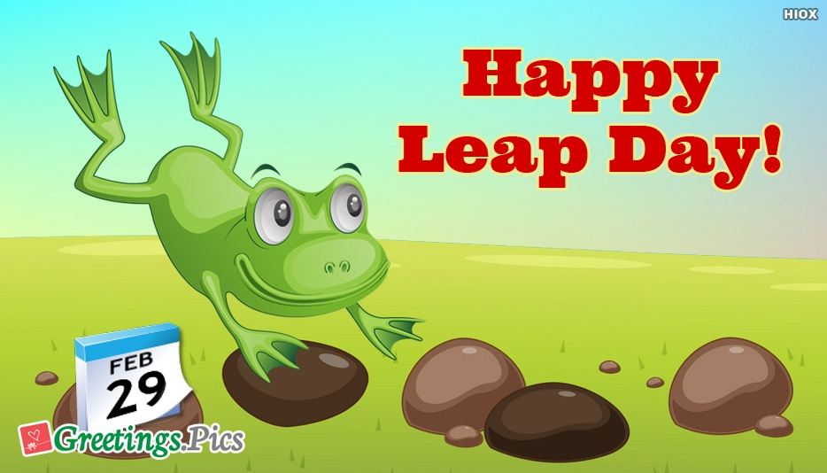 Leap Day Greetings, eCards, Images