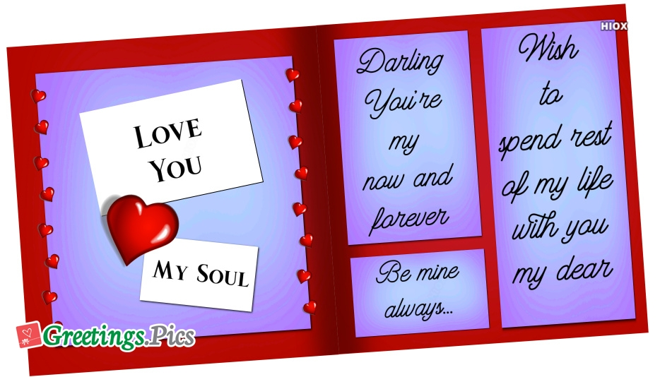 Romantic Love Quotes Greetings | Love Greeting Cards Images