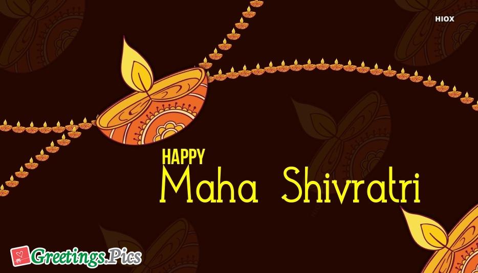 Maha Shivratri Silhouette Images