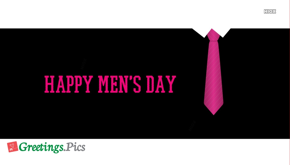 Happy Mens Day 2020 Greetings, Images