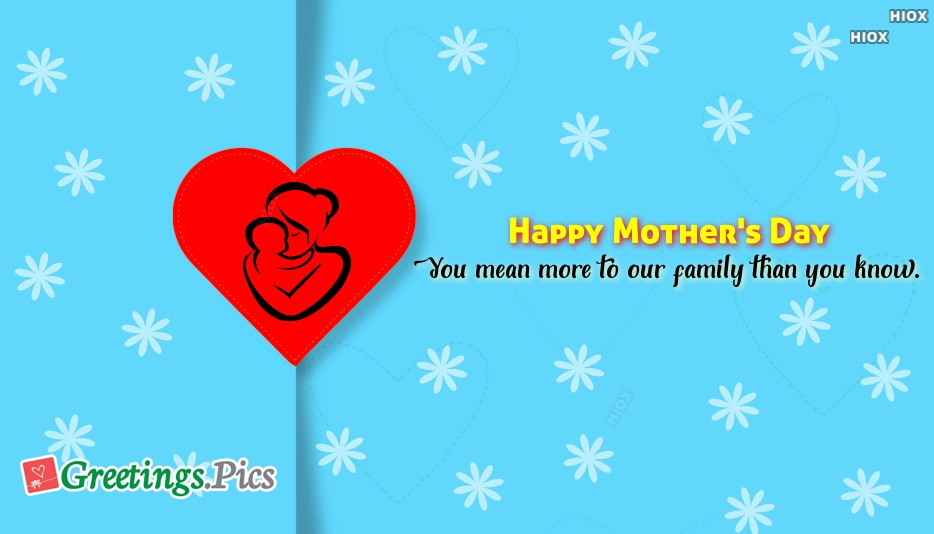 Happy Mothers Day Greetings To My Wife