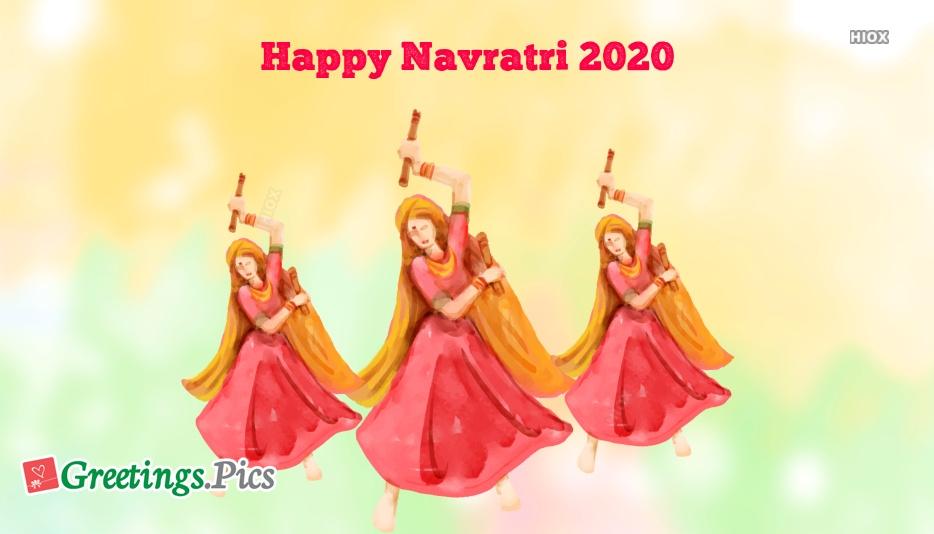 Navratri 2020 Greetings, eCards, Images