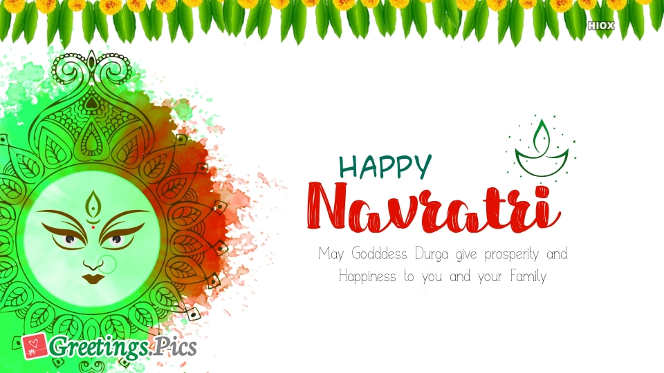 Happy Navratri In English