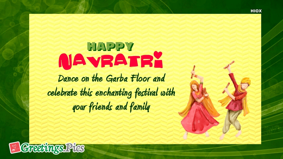 Happy Navratri Greetings, eCards, Images