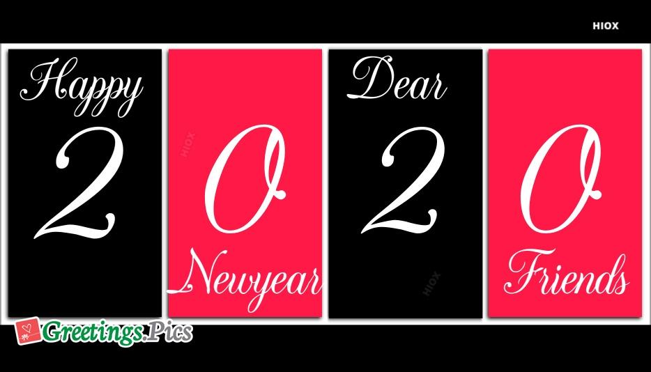Happy New Year Dear Friends