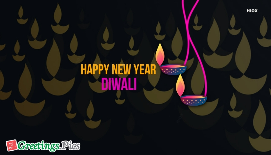 Happy New Year Diwali