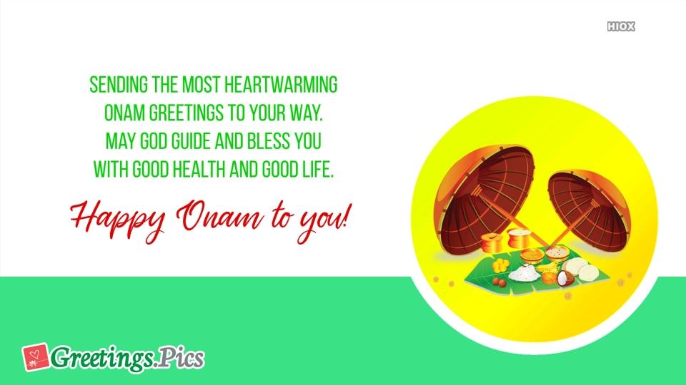 Happy Onam Cute Greetings