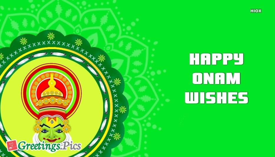 Happy Onam Greeting Cards, Images