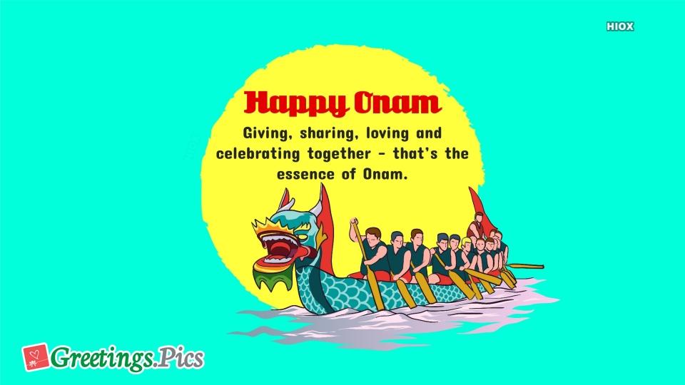 Happy Onam Wishes Quotes