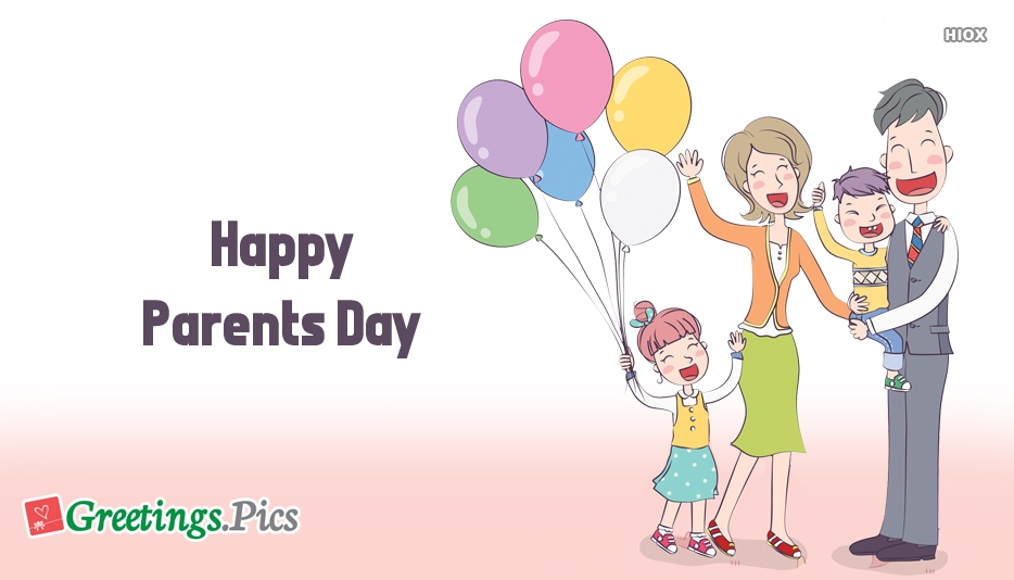 parents day greeting cards