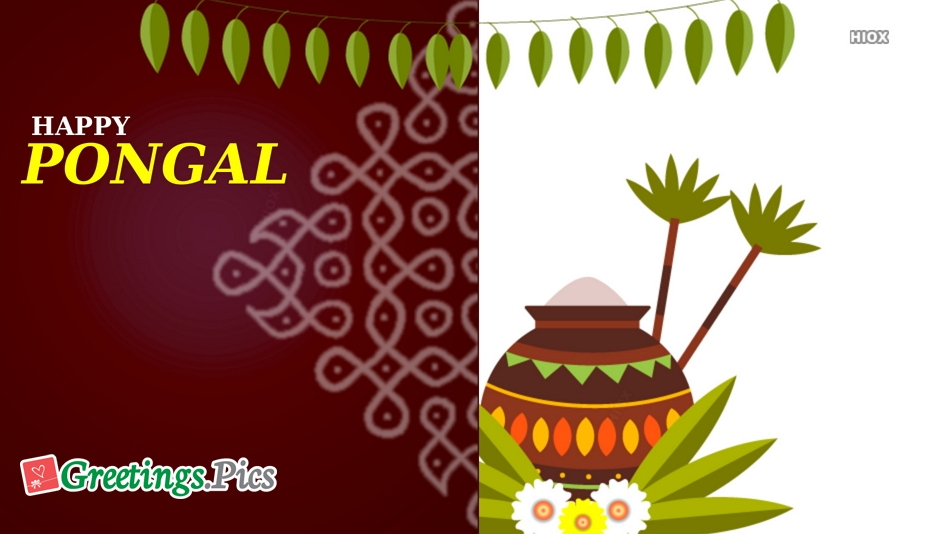 Happy Pongal Greetings, Images