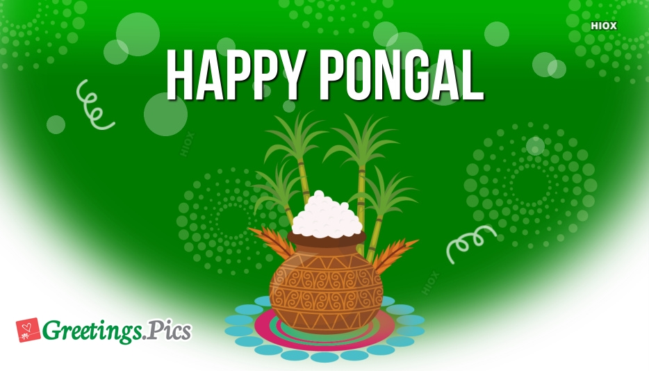 Happy Pongal Greeting Cards, Images