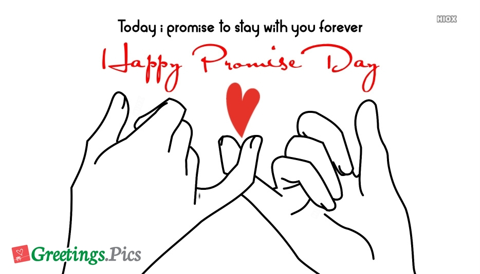 My Happy Promise Day Promise For You