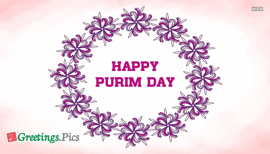 Happy Purim Greetings