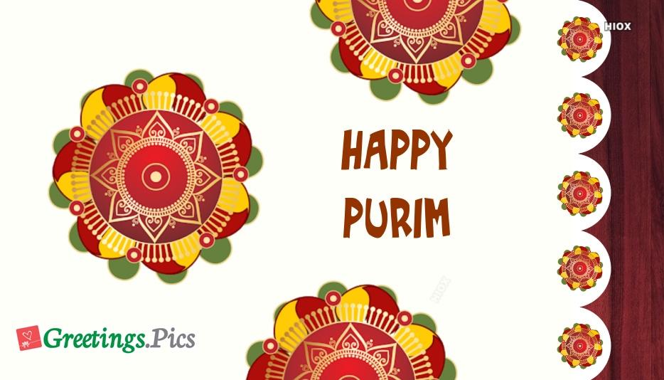 Happy Purim 2019 Greetings, Wishes