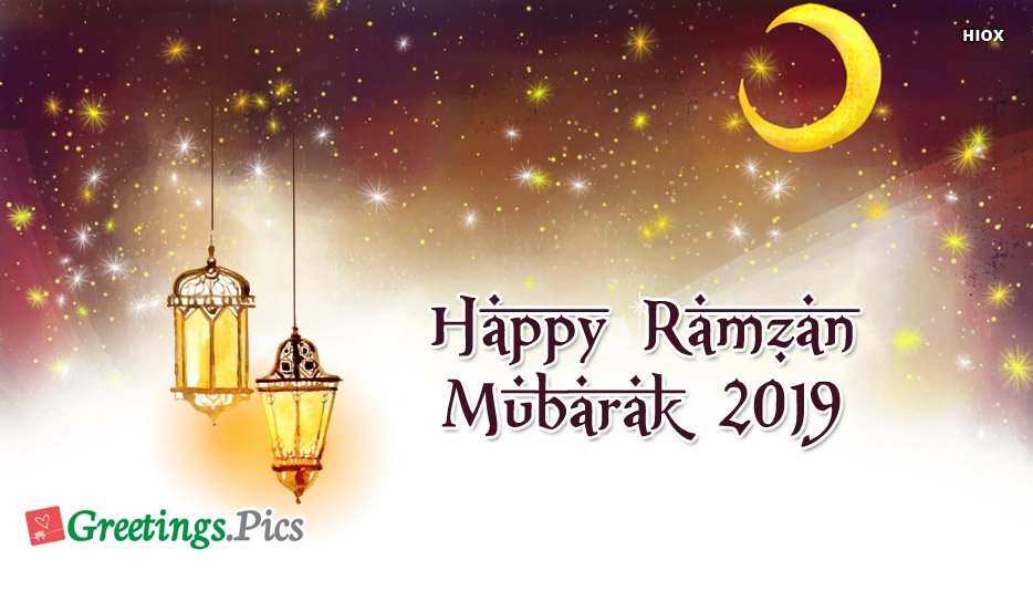 Happy Ramadan Greetings Images, Pictures