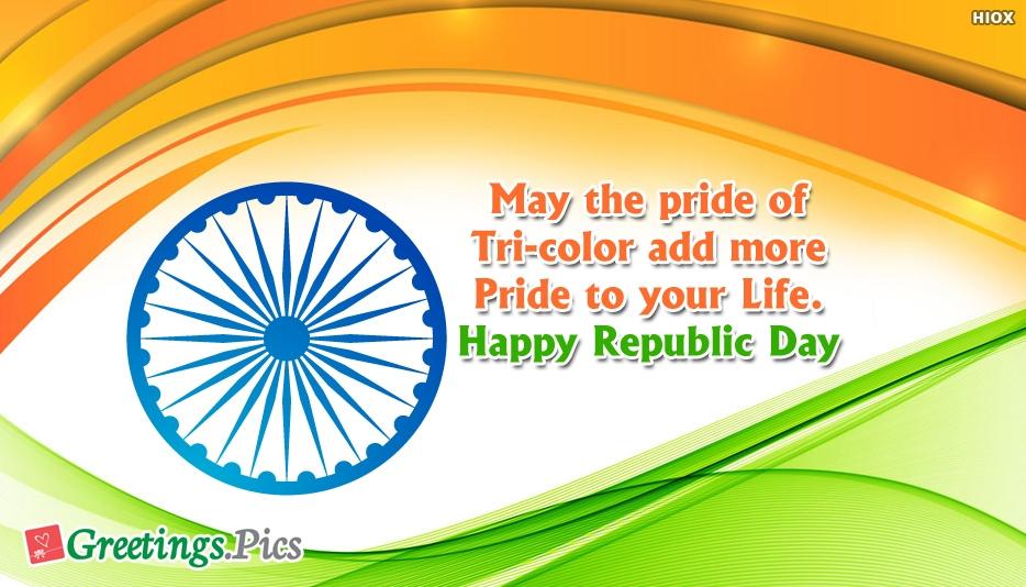 Happy Republic Day Pride Wishes