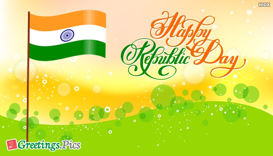 Happy Republic Day Wishes Greetings