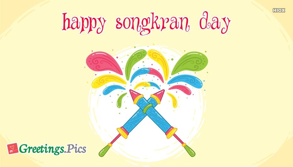 Songkran Greetings 2019