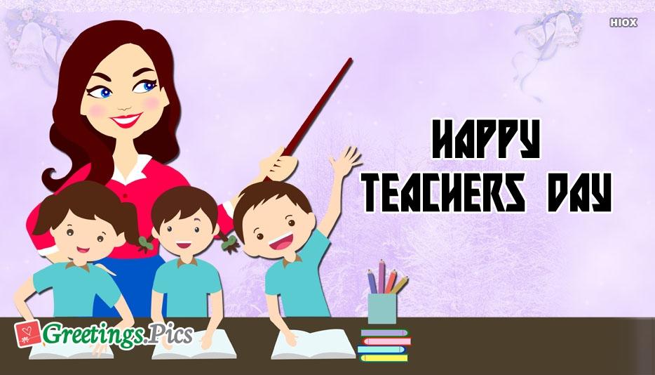 Happy teachers day greeting card greetings happy teachers day greeting card m4hsunfo
