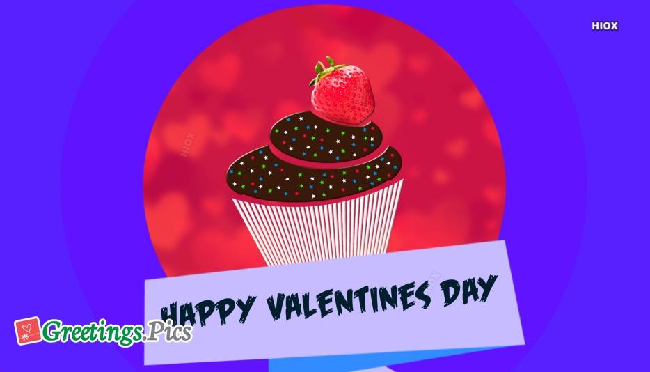 Happy Valentines Day Cake