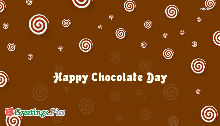 Happy Valentines Day Chocolate