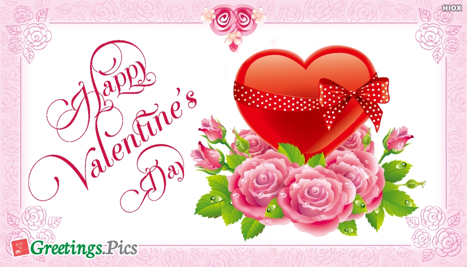 Happy Valentines Day Lovely Greeting