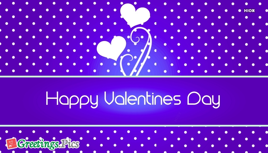 Happy Valentines Day Greetings To All