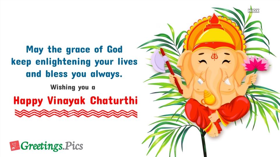 Happy Vinayak Chaturthi Wishes