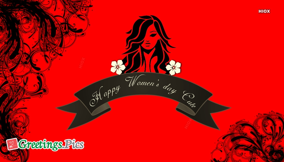 Happy Womens Day Cute