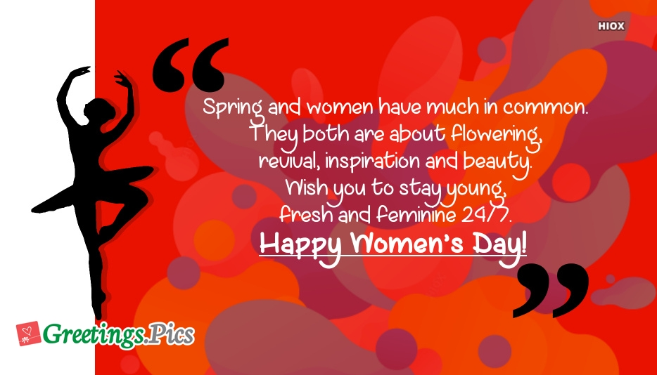 Happy Womens Day Greetings