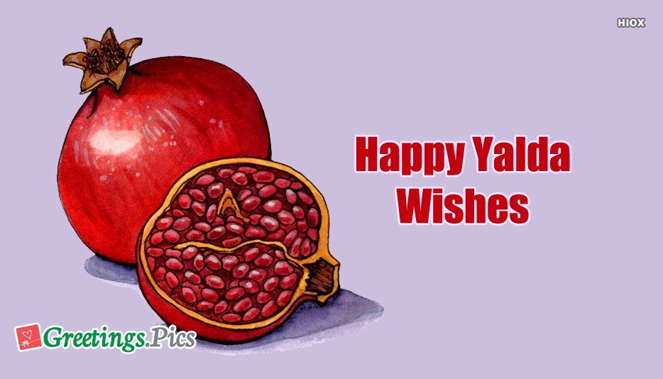 Happy Yalda 2018 Greetings, Images