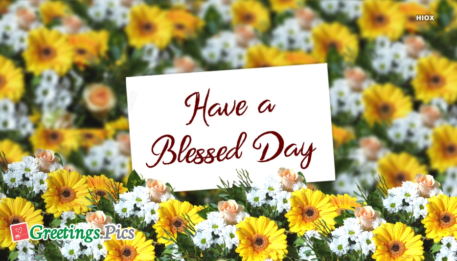 Have A Blessed Day Greetings