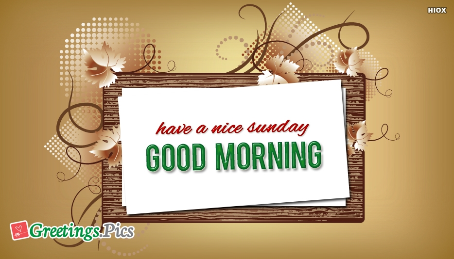 Happy Sunday Greeting Cards
