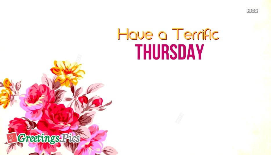 Terrific Thursday Greeting Cards