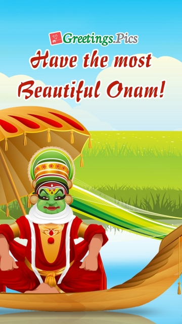 Have The Most Beautiful Onam!