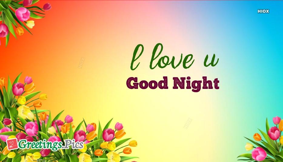 I Love U Good Night