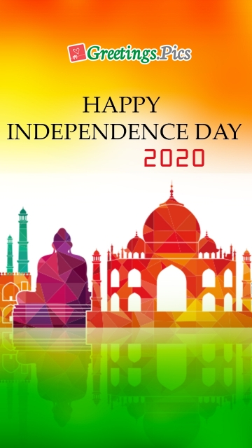 Happy Independence Day 2020 Poster