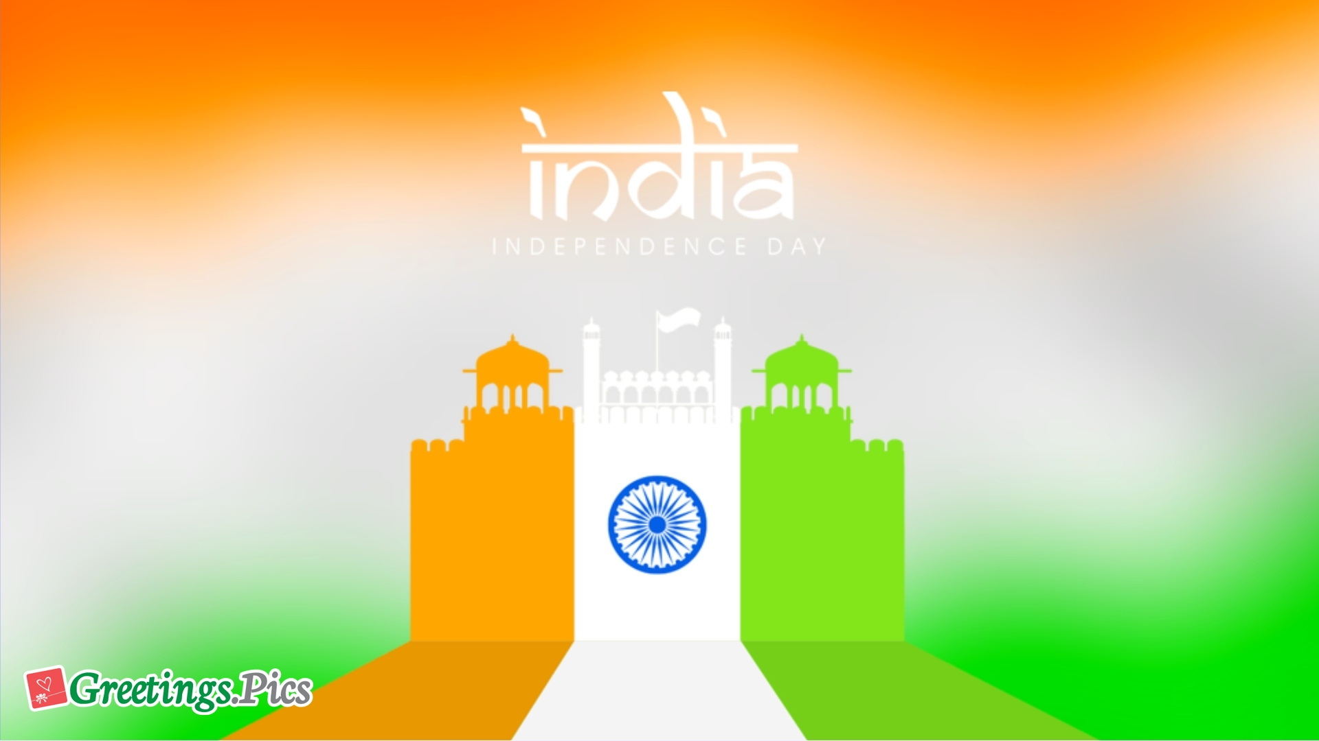 India Independence Day Background Wallpaper