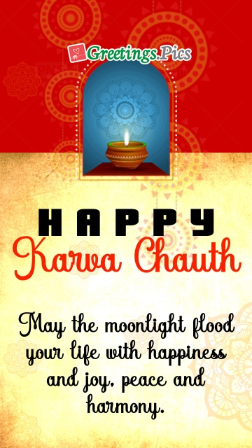 Karva Chauth Greeting Card