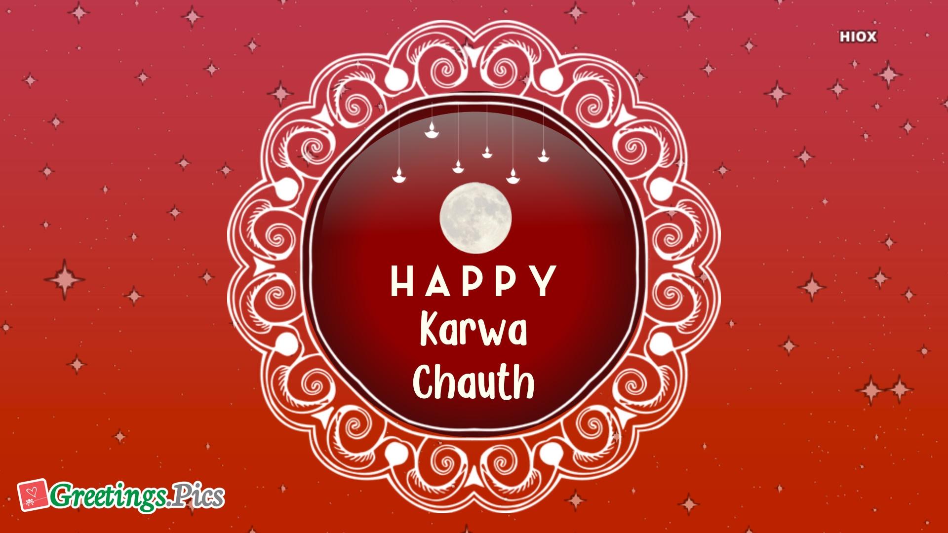 Karva Chauth Whatsapp Status